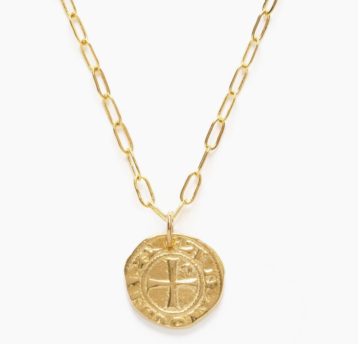 Amano Studio Medieval Coin Necklace