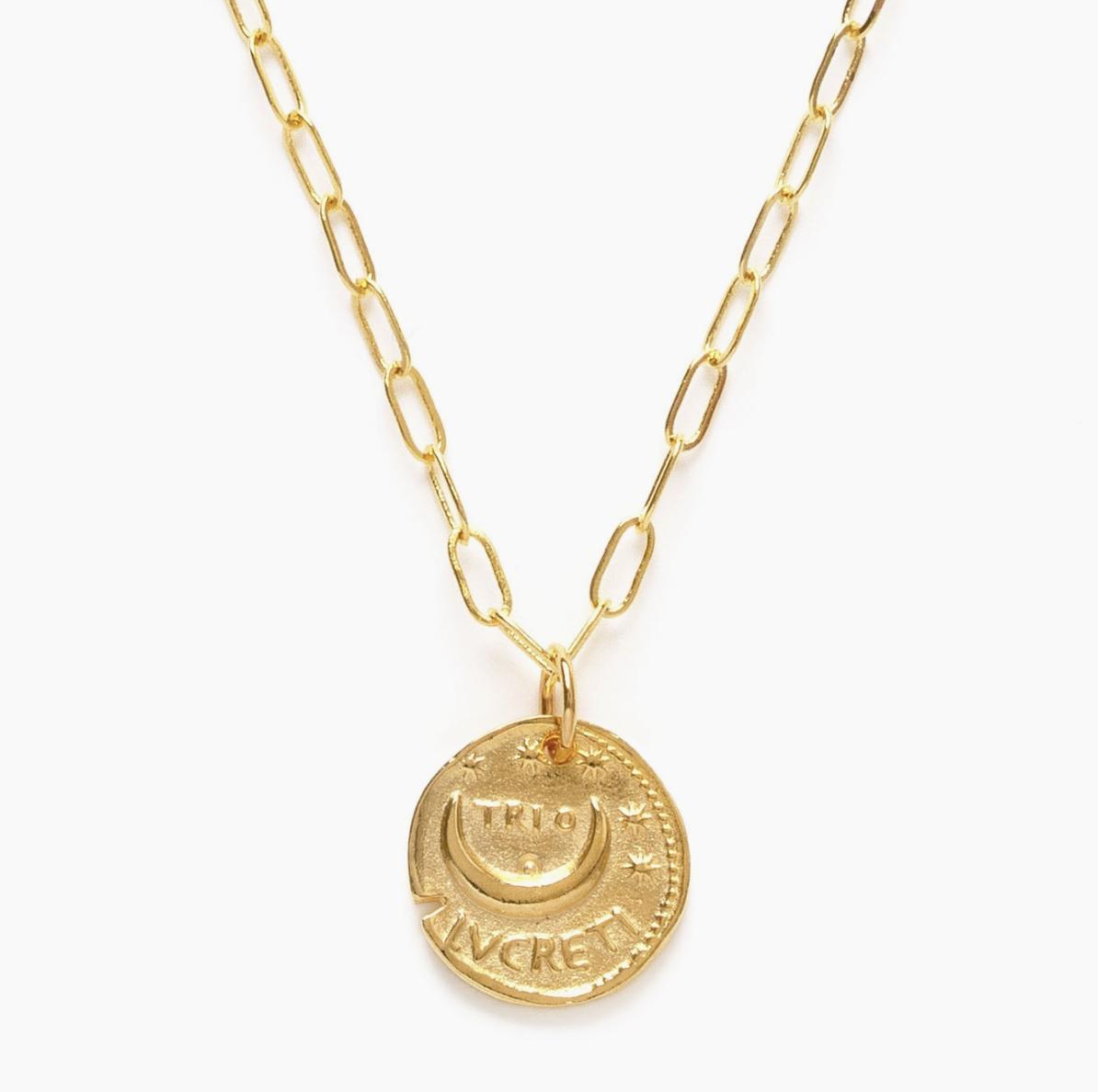 Amano Studio Roman Coin Necklace