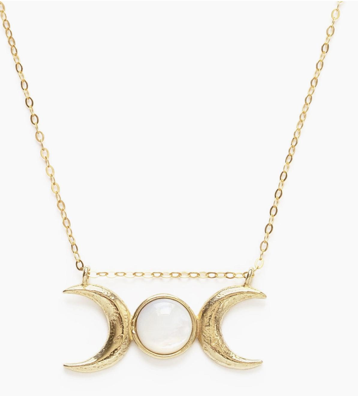 Amano Studio Triple Goddess Necklace