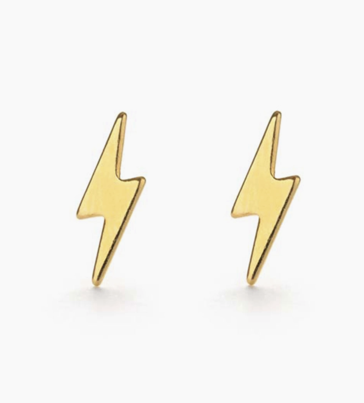 Amano Studio Lightning Bolt Studs  Gold