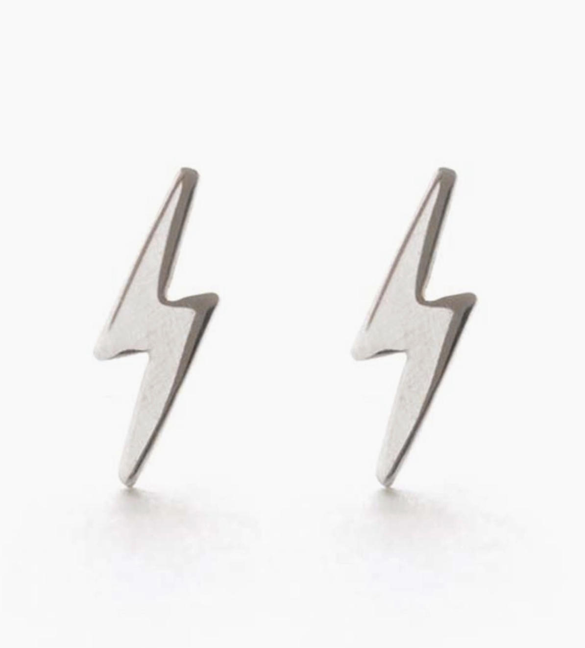 Amano Studio Lightning Bolt Studs  Silver