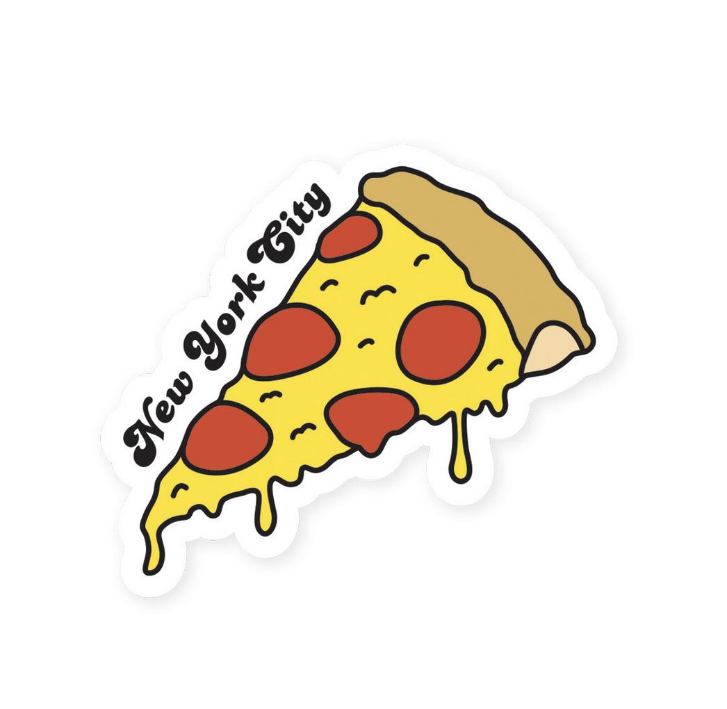 Seltzer NYC Slice Sticker