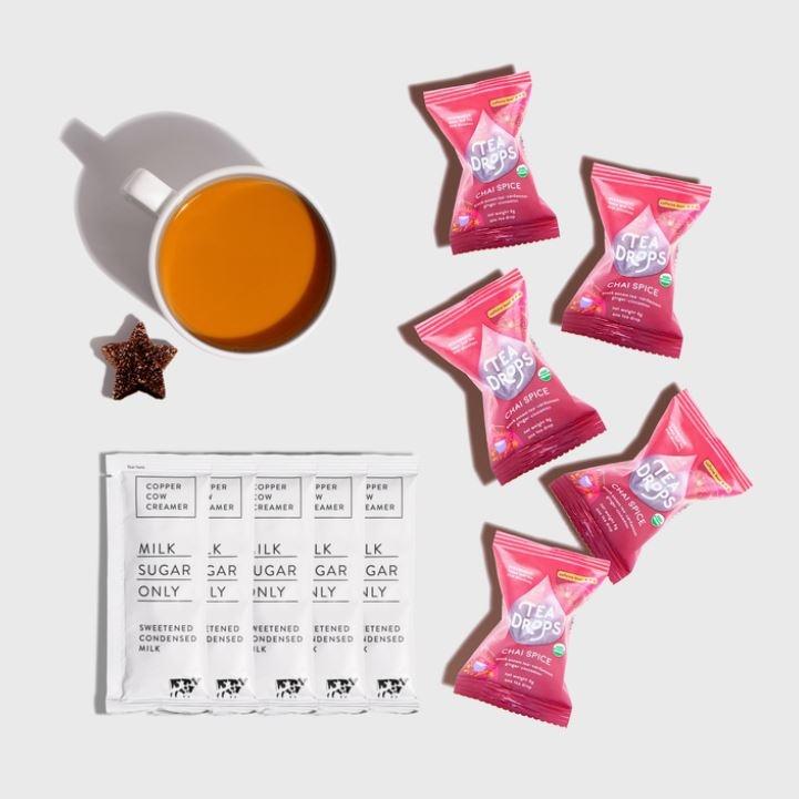Copper Cow Coffee Chai Tea Latte-5 Pack