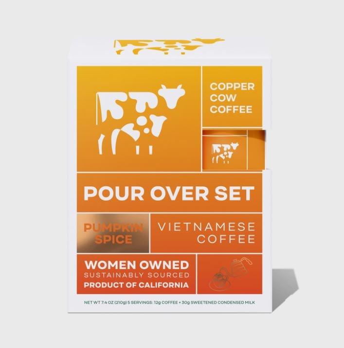Copper Cow Coffee Coffee-Pumpkin Spice Latte-5 Pack