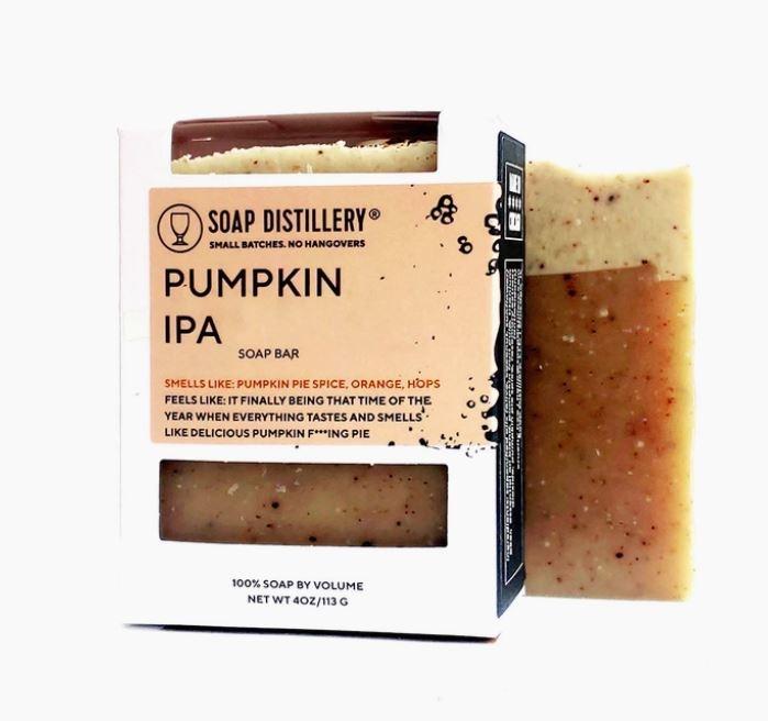 Soap Distillery Pumpkin IPA Soap Bar