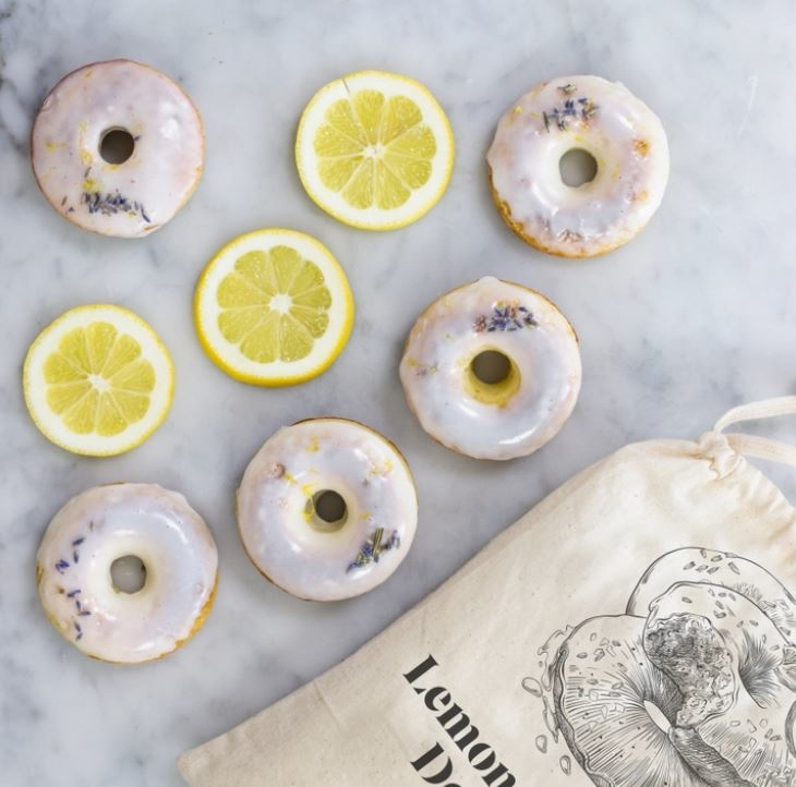 Brooklyn Brew Shop Lemon Lavender Doughnut Baking Mix