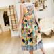 THML Tropicana Midi Dress-Yellow Multi