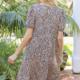 Hem & Thread Rory Leopard Babydoll Dress