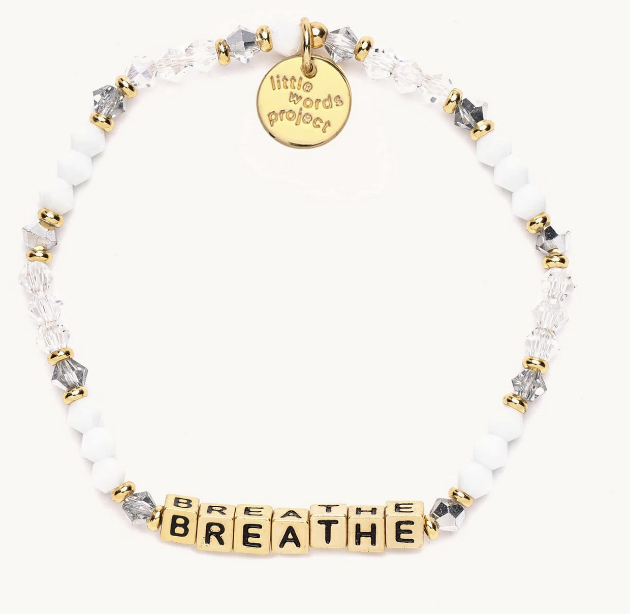 Little Words Project Breathe-Empire-Gold