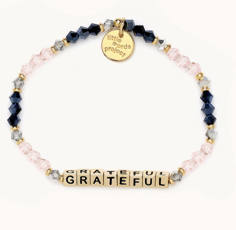 Little Words Project Grateful-Belle-Gold