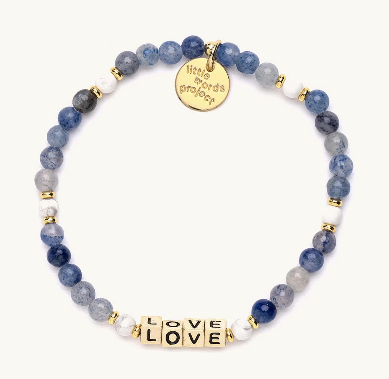 Little Words Project Love-Bluestone-Gold