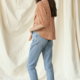 By Together Misty Tie Front Top-Rust