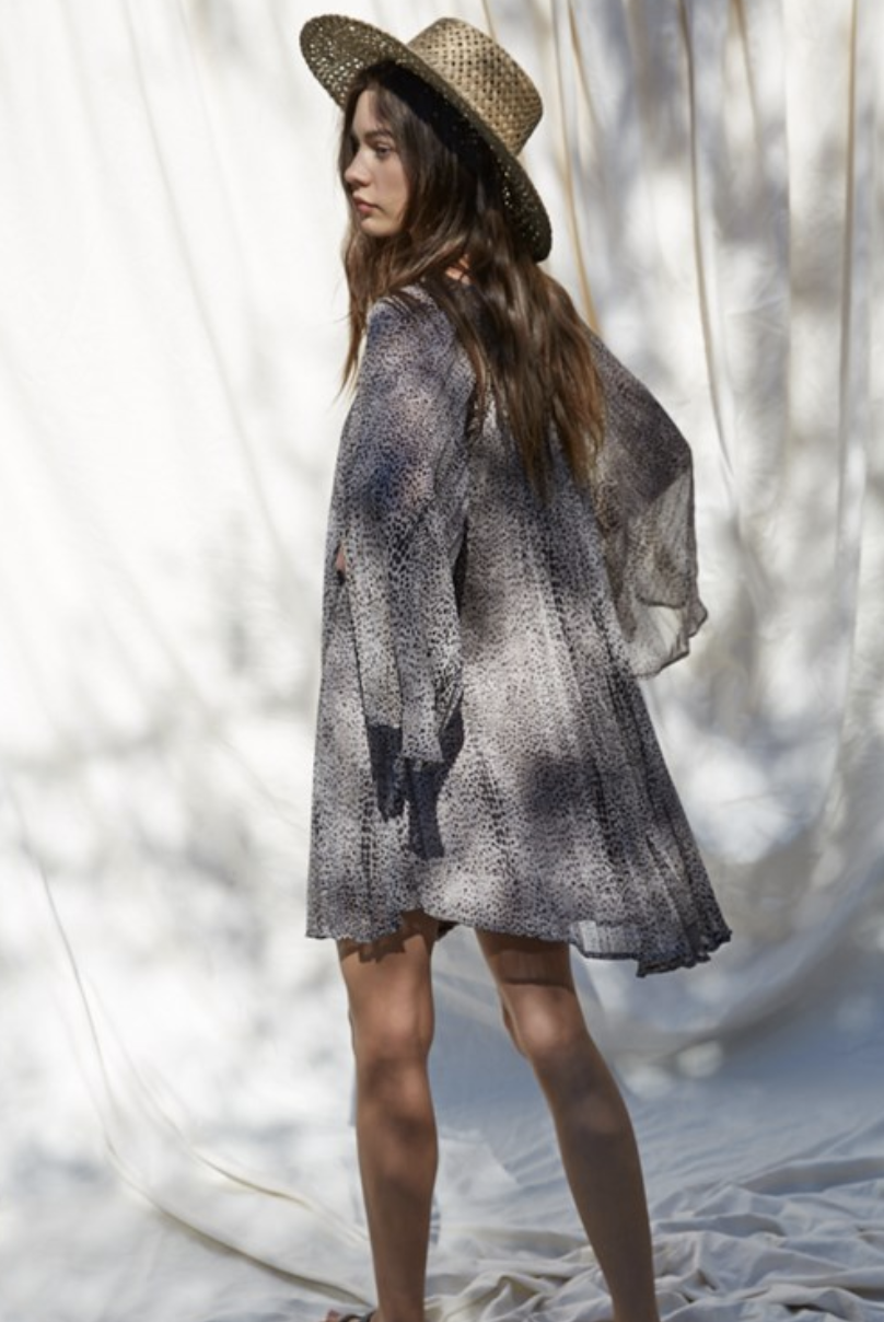 By Together Darcy Shift Dress-Grey