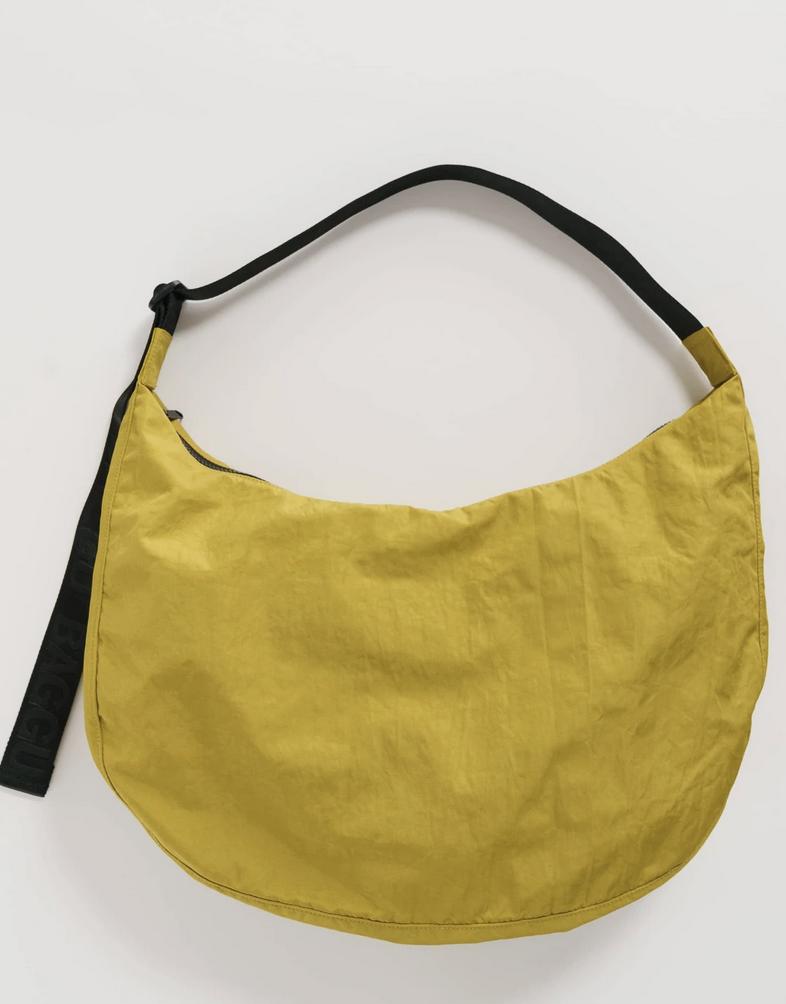 Baggu Large Nylon Crescent Bag - Lentil
