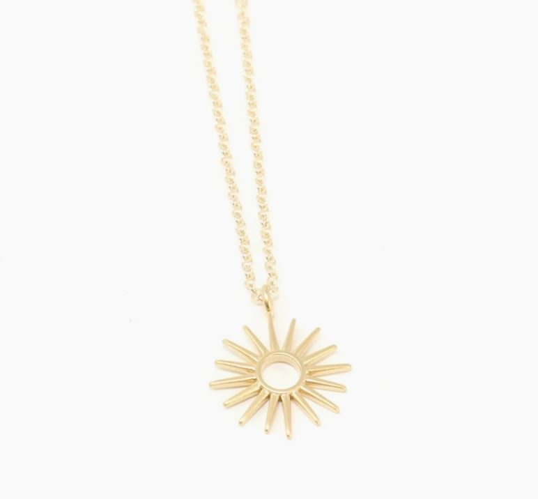 Crafts and Love Soleil Necklace  Gold