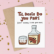 Siyo Boutique Death Do You Part Wedding Card