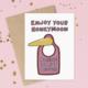 Siyo Boutique Enjoy Your Honeymoon Wedding Card