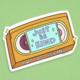 Siyo Boutique Just Be Kind VHS Vinyl Sticker