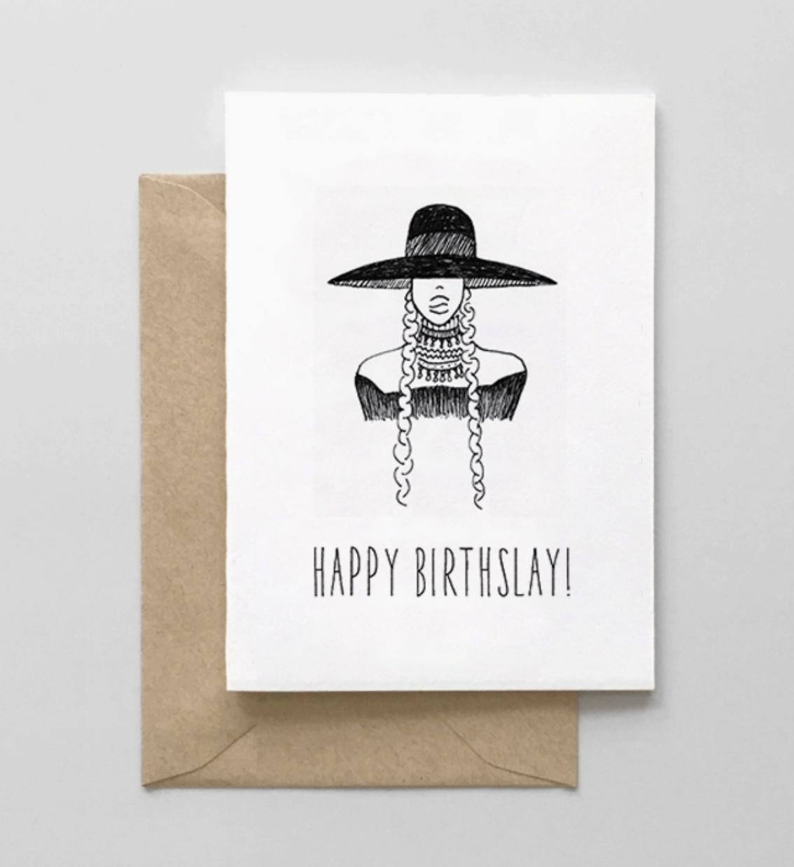 Spaghetti & Meatballs Happy Birthslay Card