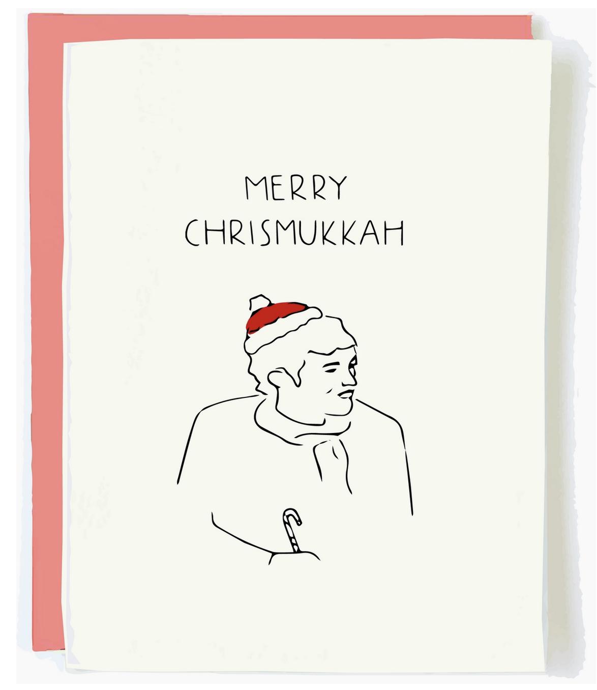 Pop + Paper Merry Chrismukkah Card