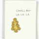 Pop + Paper Challah Hanukkah Card