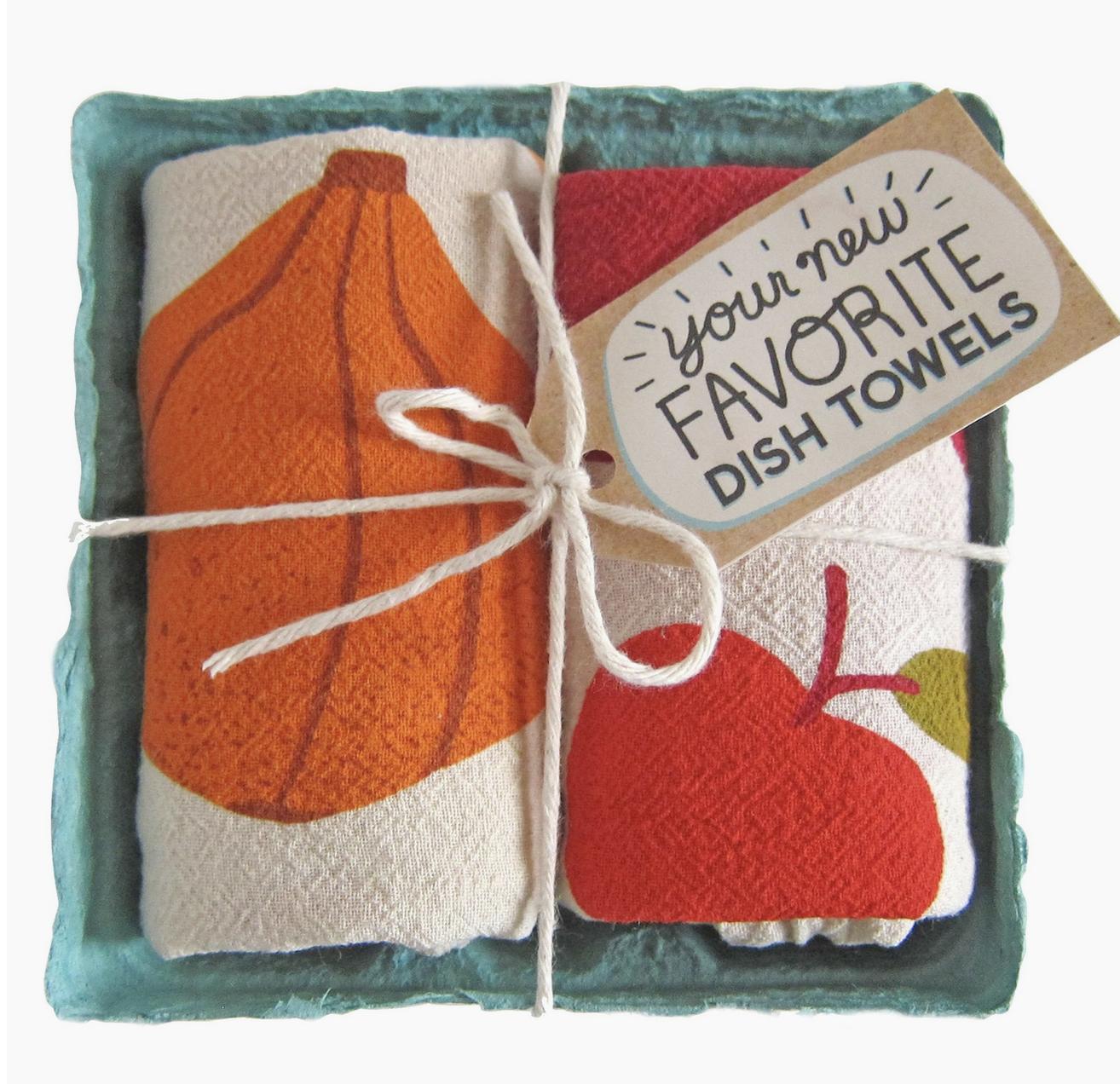 The Neighborgoods Dish Towel Set- You Autumn Know