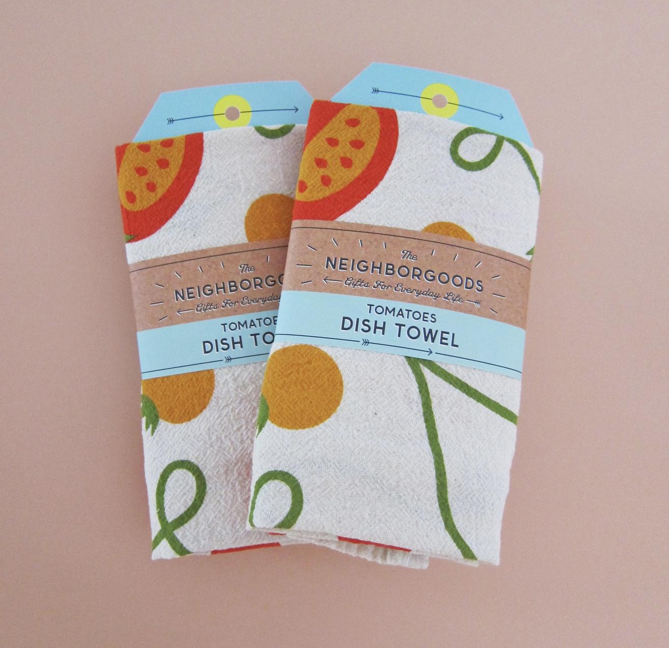 The Neighborgoods Tea Towel-Tomato