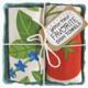 The Neighborgoods Dish Towel Set- Tomato Basil