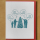 McBitterson's Miss Social Distancing XMas Tree Card
