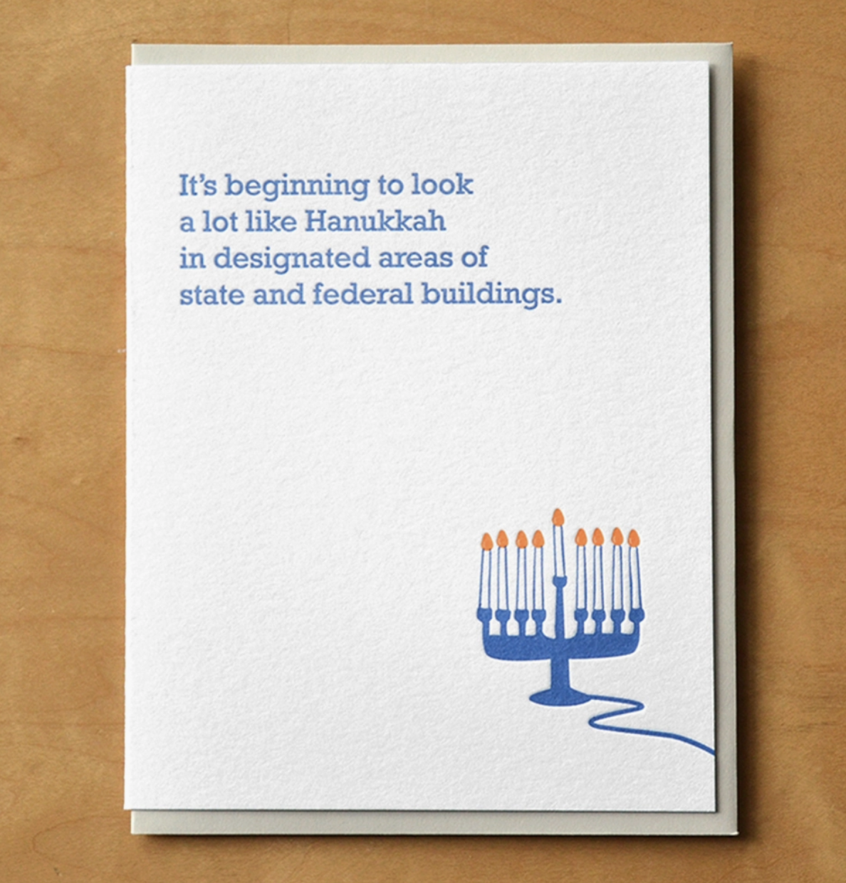 McBitterson's Hanukkah State And Federal Buildings