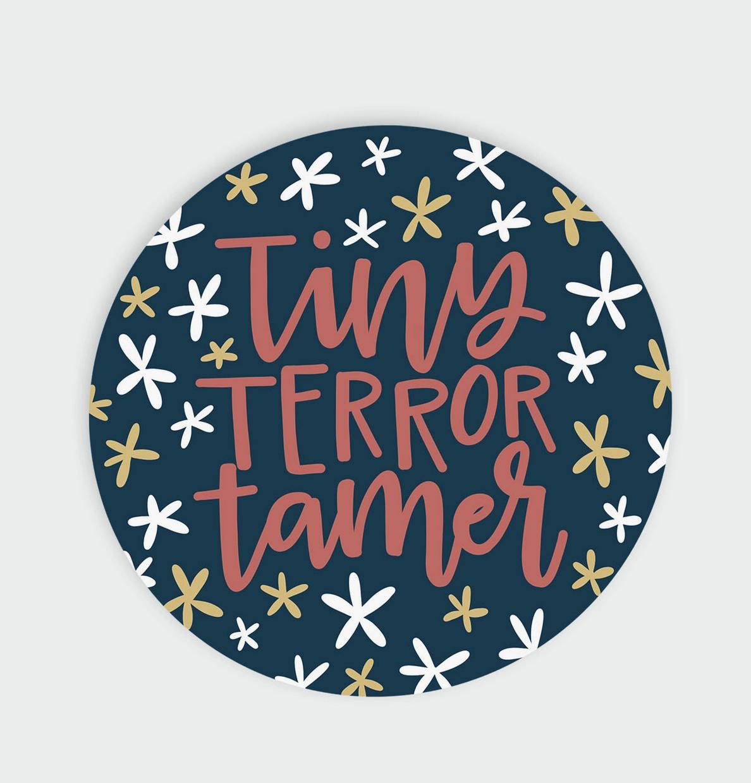 Little Lovelies Studio Tiny Terror Tamer — Sticker
