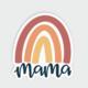 Little Lovelies Studio Mama Rainbow — Sticker