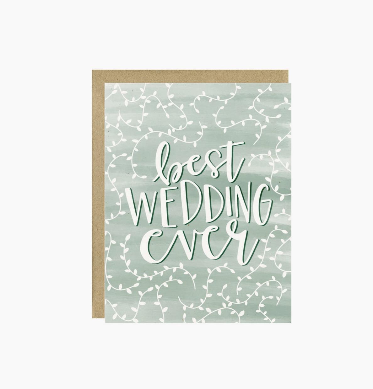 Little Lovelies Studio Best Wedding Ever Card