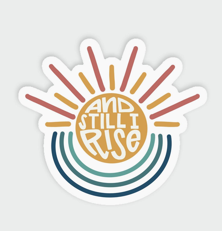 Little Lovelies Studio And Still I Rise — Sticker