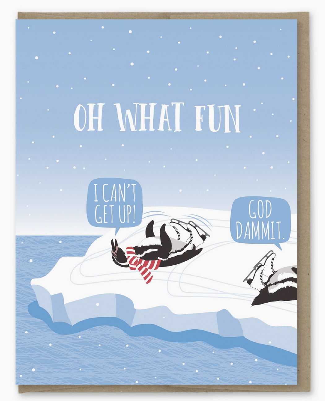 Modern Printed Matter Oh What Fun Holiday Card