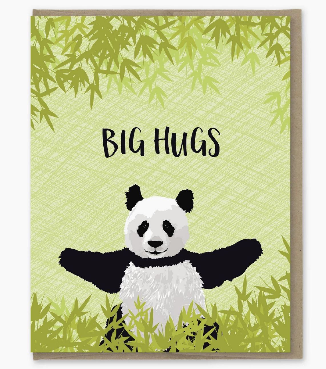 Modern Printed Matter Big Hugs Card