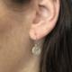Emilie Shapiro Full Moon Earring Silver