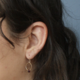 Emilie Shapiro Birthstone Earring-July(Ruby)