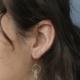 Emilie Shapiro Birthstone Earring-April(Quartz)