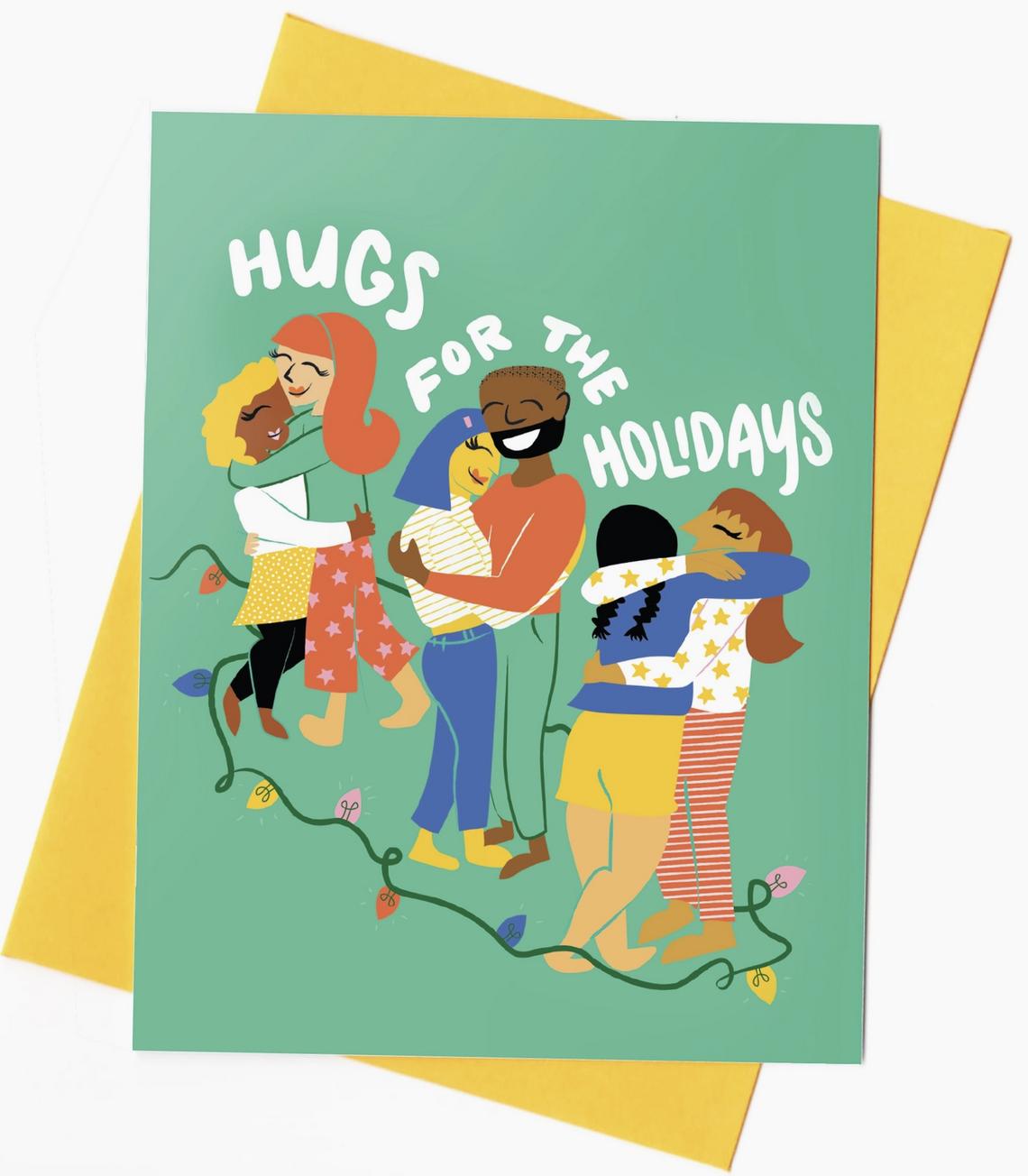 Rhino Parade Hugs for the Holidays Card