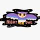 Rhino Parade Night Owl Sticker