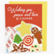 Rhino Parade Peace Love and Christmas Cookies Card