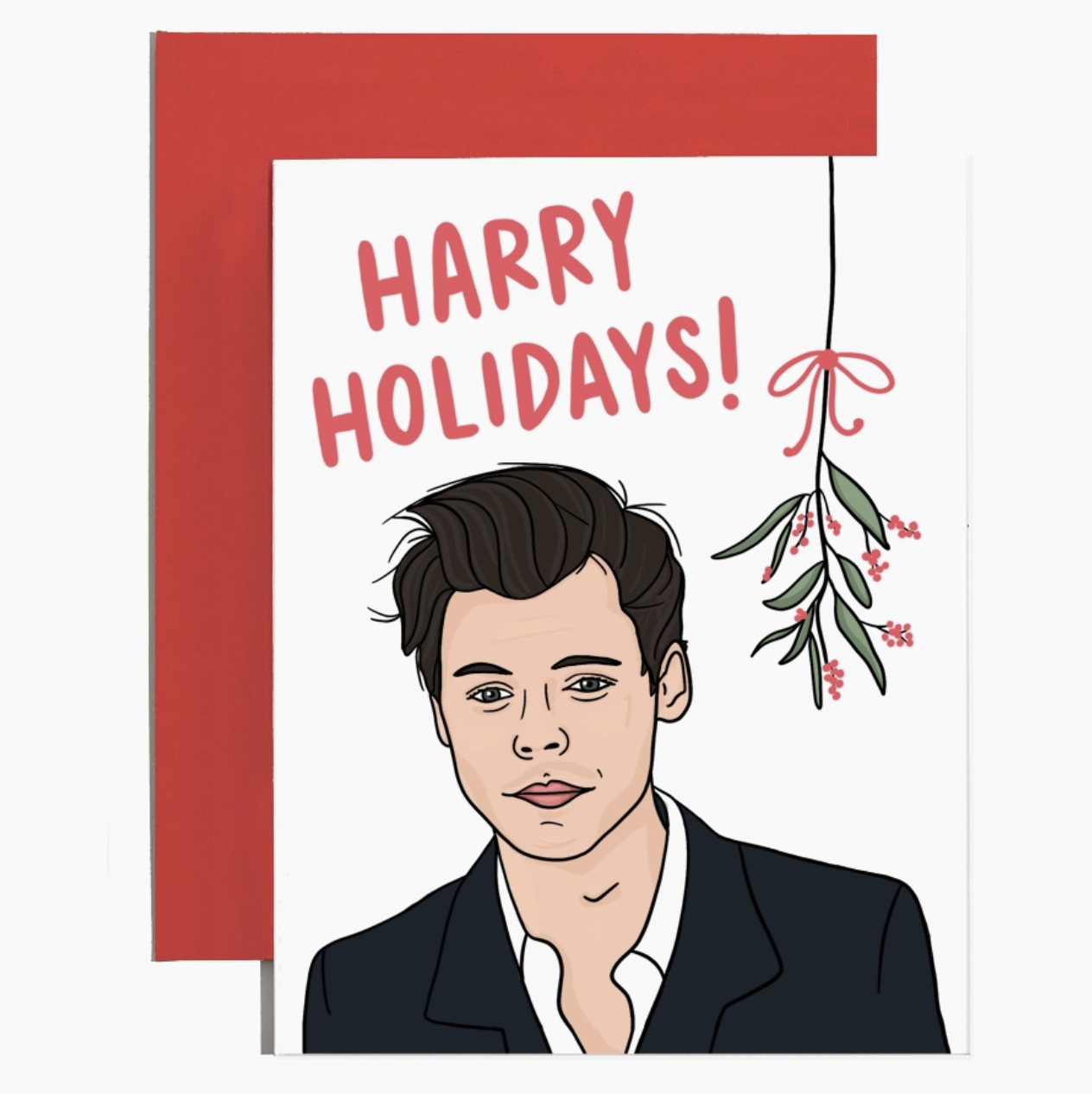 Brittany Paige Harry Styles Holiday Christmas Card