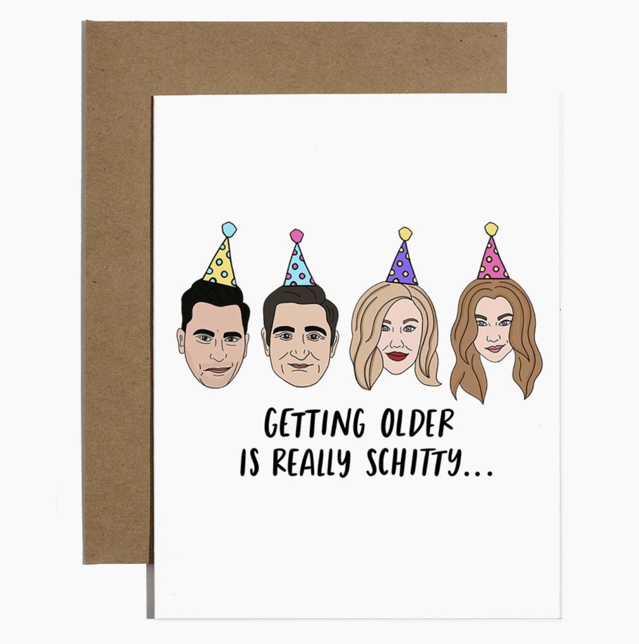 Brittany Paige Schitt's Creek Birthday Card