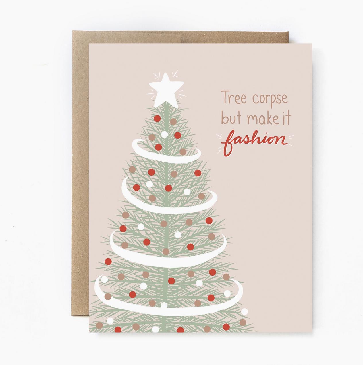 Unblushing Tree Corpse Card
