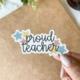 Created by Christine Proud Teacher Sticker