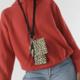 Baggu Lanyard Pouch Set-Honey Leopard