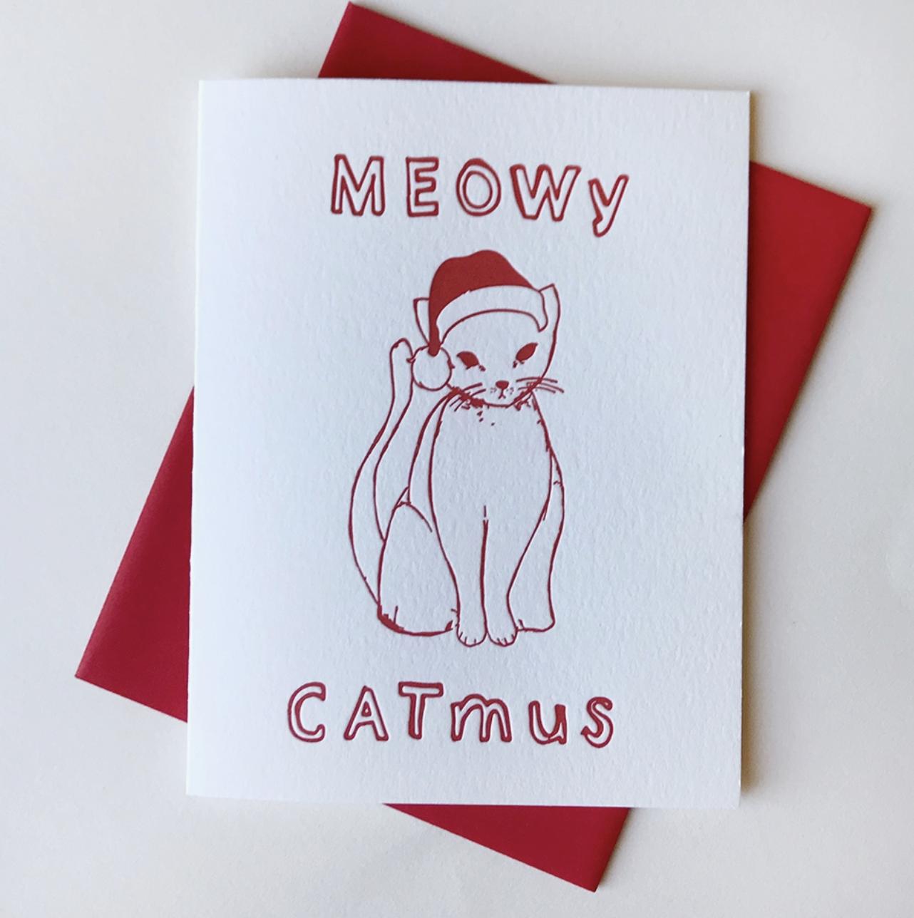 Steel Petal Press Meowy Catmus
