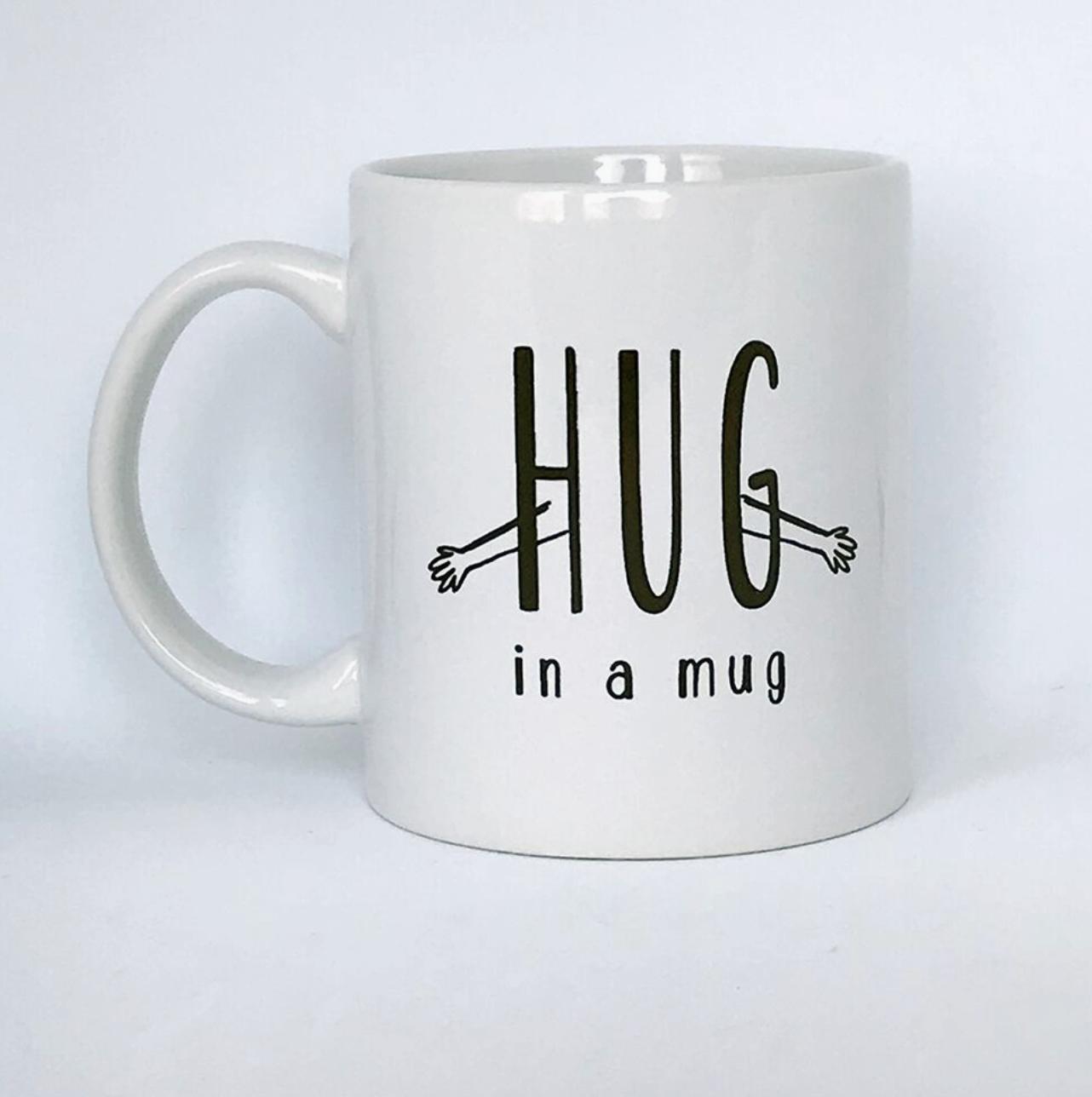 Steel Petal Press Hug In A Mug