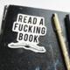 Steel Petal Press Fucking Book Sticker